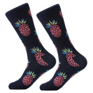 Image 3 - MYORED 12 çift/grup erkek çorapları Calcetines Hombre moda düğün hediyesi erkekler rahat çorap sonbahar kış sıcak noel hediyesi