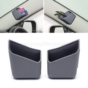 Image 4 - 2Pcs Universal Car Auto Accessories Glasses Organizer Storage Box Holder 3 Colors