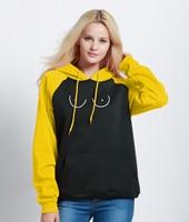 2018 New Arrival Hoody Sweatshirt Novelty Print Funny TITTIES BOOBS BOOBIES Streetwear Harajuku Brand Raglan Hoodies