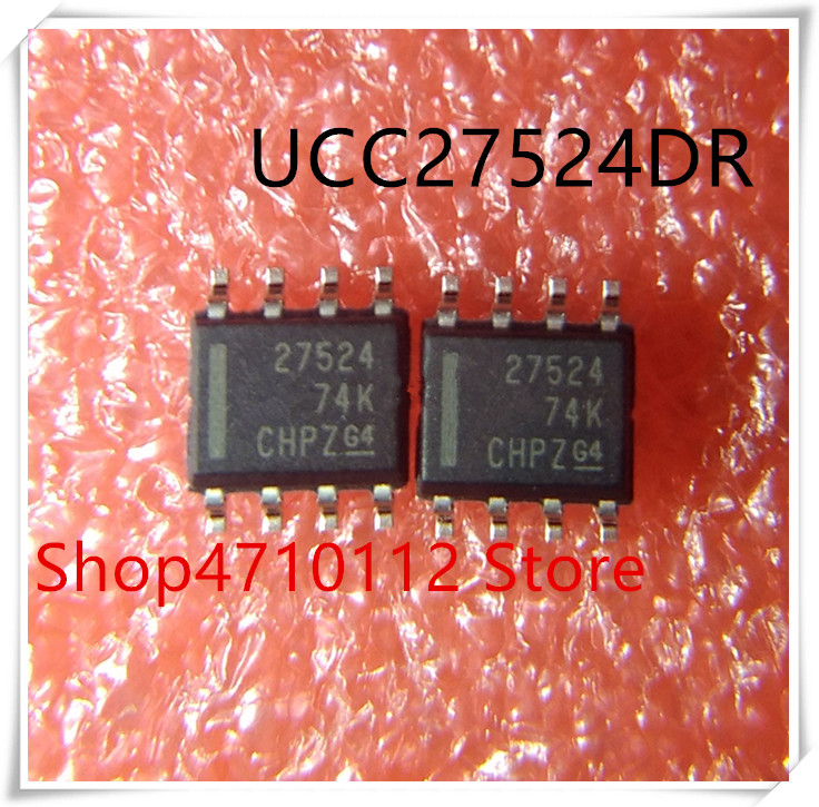 NEW 10PCS/LOT UCC27524DR UCC27524 27524 SOP-8 IC