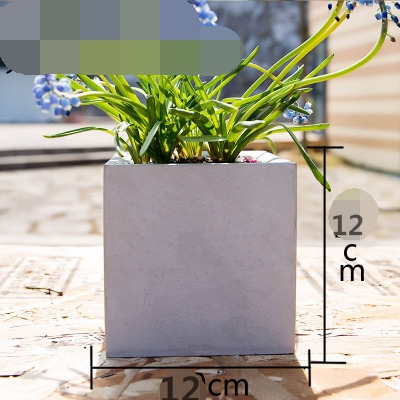 formas quadradas três tamanho de borracha de silicone