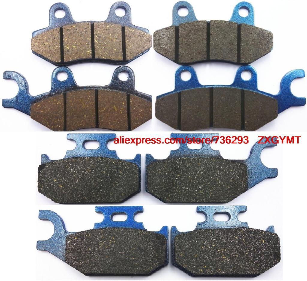 Motorcycle Semi-met Disc Brake Pads Set fit CAN-AM 1000 Maverick 2013 & up motorcycle disc brake pads fa473 fit for can am spyder rs ses 990cc 08 09 phantom black