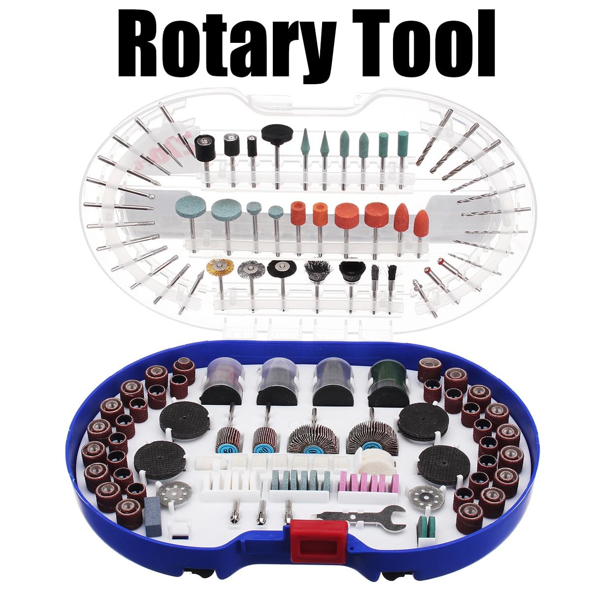 276PCS Rotary Tool Bits Set Rotary Tool Accessories for Dremel Grinding Polishing Cutting Sanding Carving Abrasive Tools Kits new 20pc fold felt sanding dremel accessories for rotary tools