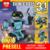 Nueva LEPIN 24020 205 Unids Serie Creativa Los tres en un Explorador Robot Set 31062 Niños Ladrillos de Construcción, Bloques Educativos juguete
