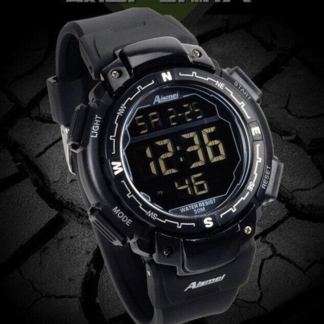 c8859e7557e77 أحدث عالية الجودة ساعة رقمية ، للماء في الهواء الطلق الساعات الرياضة ...