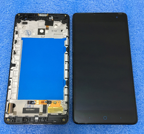 ФОТО Brand original new Lcd screen display+Touch screen digitizer with frame For 5.5'' ZTE V5 MAX N958St Free shipping