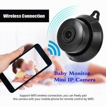 Home Security Baby Monitor Mini IP Camera 1MP 720P HD Mini WIFI Support 128G Memory Card