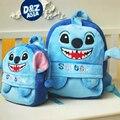 Saco berçário bolsa de ombro mochilas de pelúcia crianças dos desenhos animados sacos de bebê ponto de pelúcia mochila