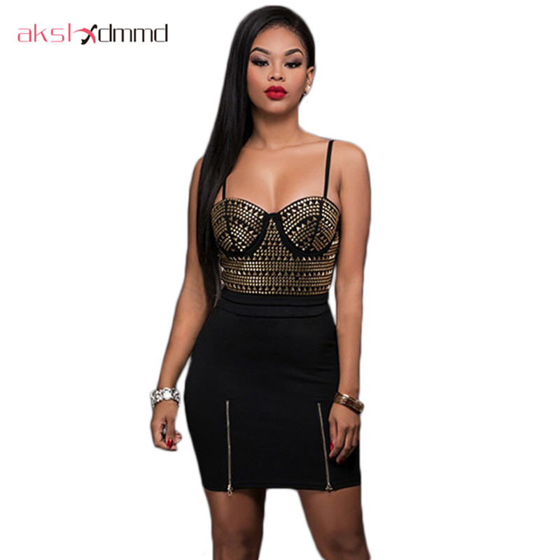 AKSLXDMMD Two Piece Set Sexy Fly Bra Club & Party Hot ...