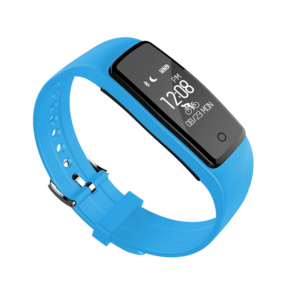 2017 SS1 Smartband IP67 Waterproof Wristband Bracelet W Smart Heart Rate Fitness Touchpad OLED Better Than