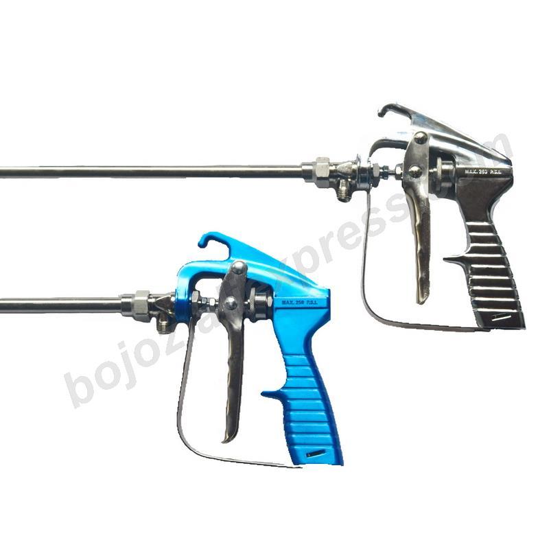 Long rod high pressure airless spray gun atomization type high atomization airless spray gun spraying machine spray gun