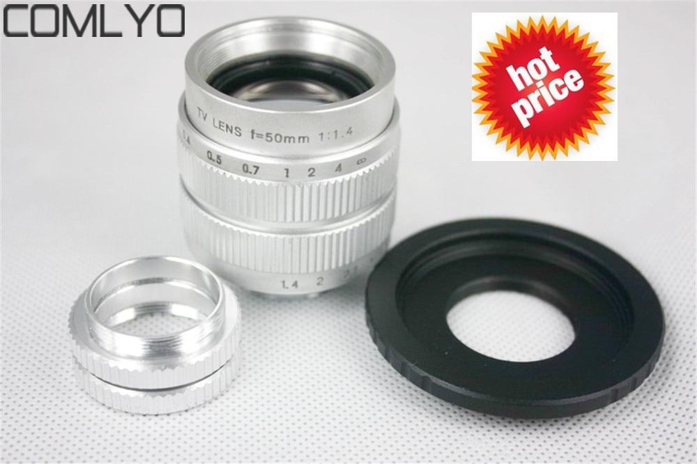 50mm f1 4 Camera Lens for Fuji FX Sony NEX Samsung NX C Mount FOR Fuji