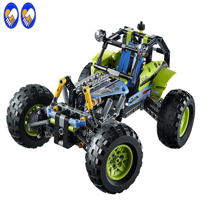 A Toy A Dream 38001/2/3 Technic City Series Formula Off-Roader Car Building Blocks Bricks Model Kid Toys Marvel Compatible Lepin