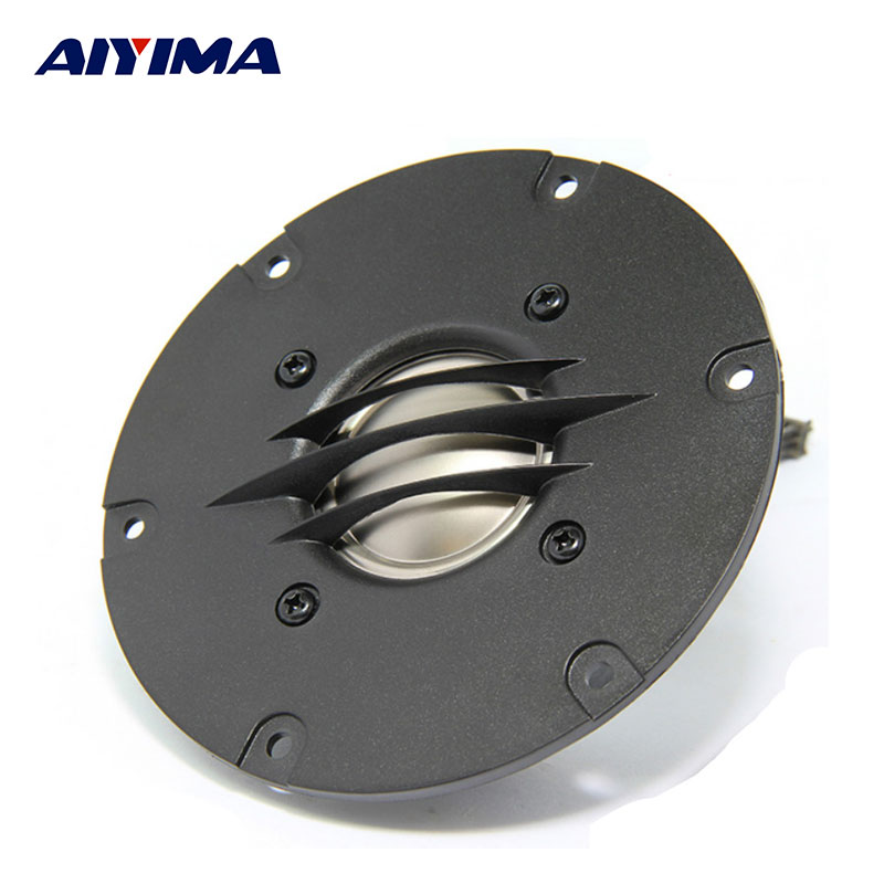 AIYIMA 4inch Tweeter 90W 6ohm Full Range loudspeakers Enthusiast Speaker 35 Core Audio Treble Dome Tweeter Stereo DIY Speaker