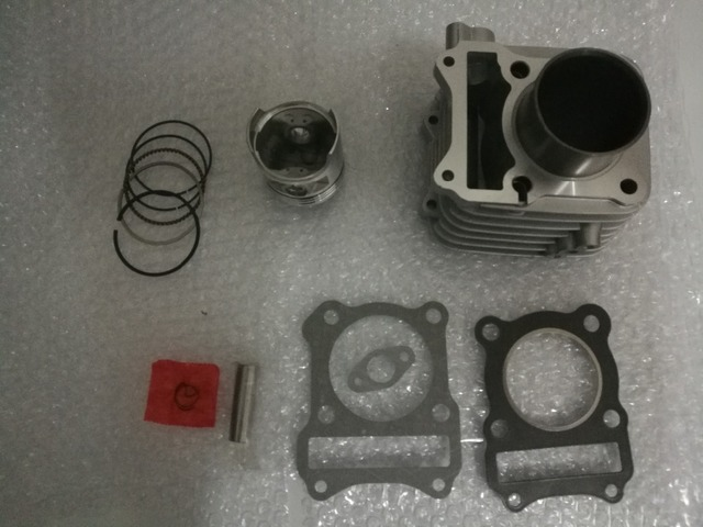 Cylinder Kit Bore 57mm for SUZUK GS125 GN125 EN125 GZ125 DR125 TU125