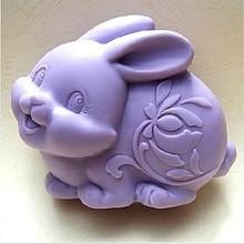 Kvalitní silikonová formička ve tvaru krásného králíčka