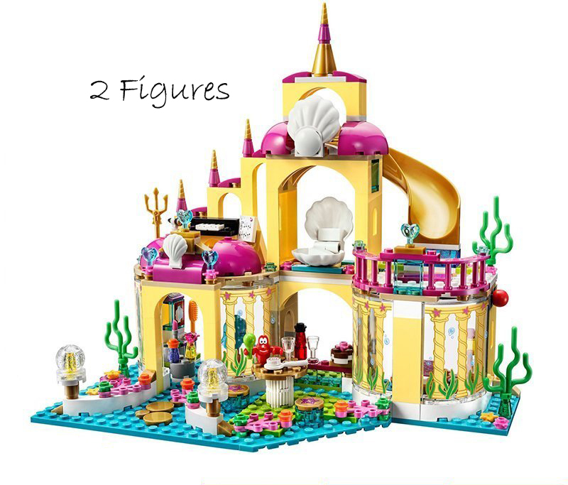 Bela 10436 Princess ARIEL'S UNDERSEA PALACE Building Block
