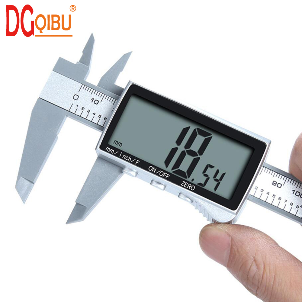 New Electronic Digital Display Vernier Caliper Inch/Metric Conversion 6Inch 0-150mm HD Full-screen Caliper Measurement Tool