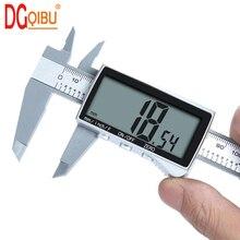 Электронный цифровой дисплей штангенциркуль дюймов/метрическое преобразование 6 дюймов 0-150 мм HD полный экран штангенциркуль измерительный инструмент