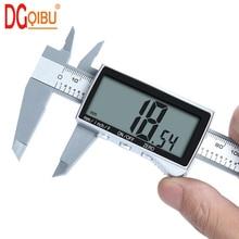 New electronic digital display vernier caliper Inch/Metric Conversion 6Inch 0-150mm HD full-screen caliper measurement tool