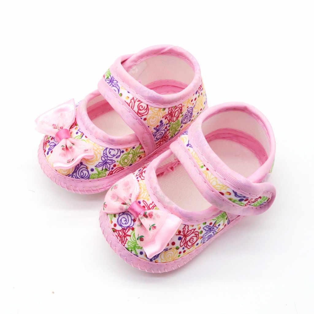 Soft Sole รองเท้าผ้าฝ้ายทารกแรกเกิดทารกหญิง Soft Sole Prewalker สบายๆรองเท้า First Walkers เด็กวัยหัดเดินรองเท้าแตะเดี่ยว