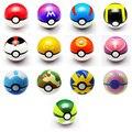 1 шт. Pokeball Игрушки Открываться 7 см Фигурки Pokeball Детка Великий Мастер Gs Мяч