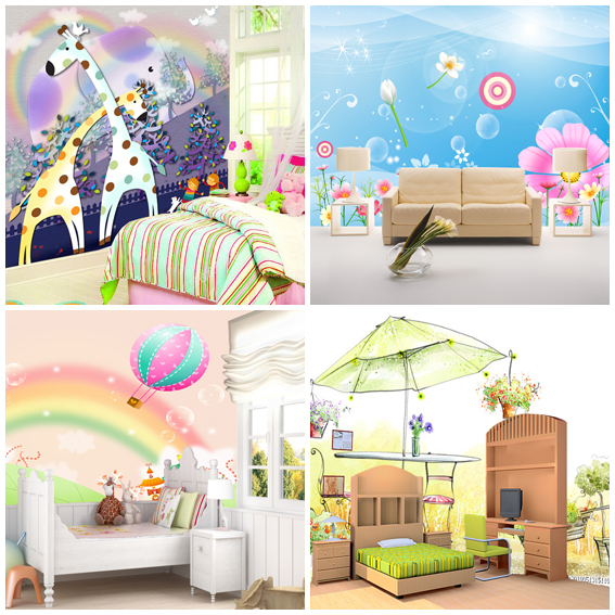 metros cuadrados beb mural abstracto tv papel tapiz de fondo nio frescol papel de pared para los nios muchacho nias dormitorio decorativos de dibujos with