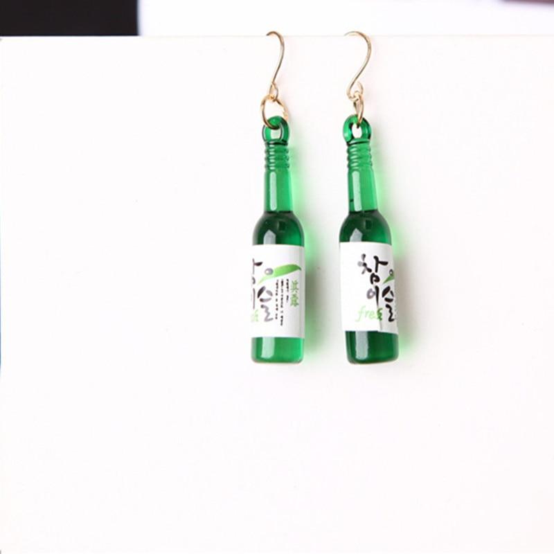Personalized Water Bottle Earrings