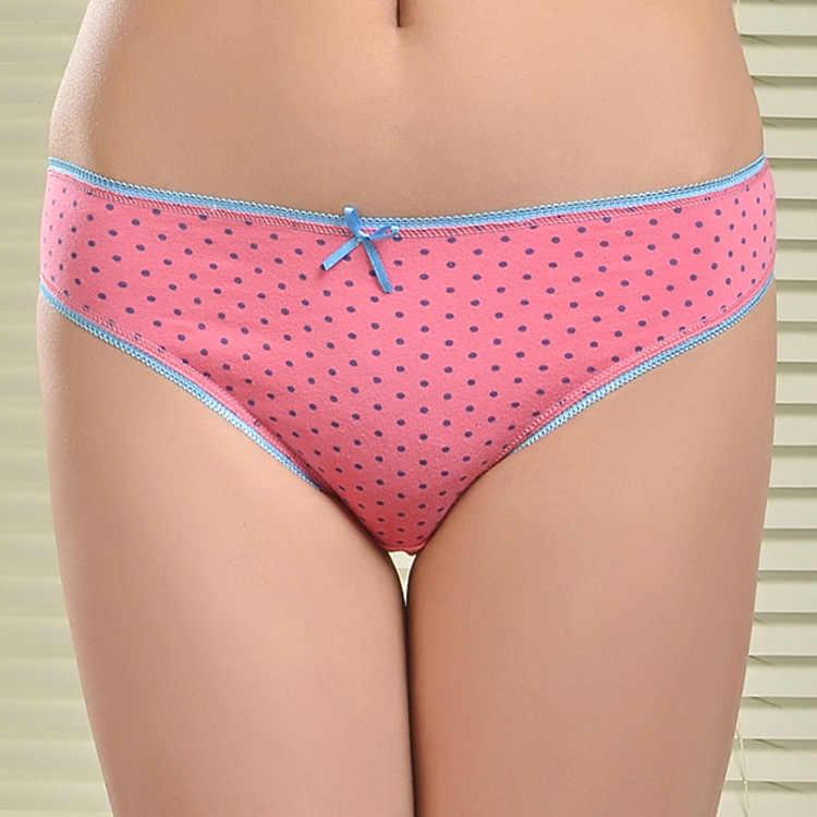 42fd8b17c Free shipping 5pcs lot Selling Cotton women s briefs sexy low-waist panties  Ladies briefs