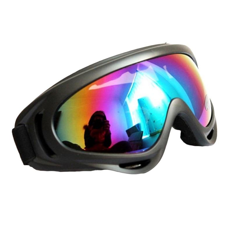 Men Women Dustproof Glasses Skate Ski Eyewear Wind-proof Winter Snow Sports Skiing Snowmobile Anti-fog Goggles 2018 New