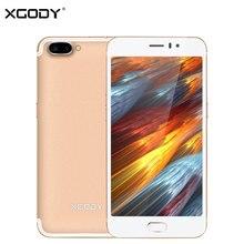 XGODY D23 3G Déverrouiller Touch Mobile Téléphone MT6580A Quad Core 1G + 16G 5.0MP + 13.0MP Smartphone 5.5 Pouce Android 5.1 Téléphone Portable 2350 mAh