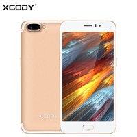 XGODY D23 3G Unlock Touch Mobile Phone MT6580A Quad Core 1G 16G 5 0MP 13 0MP