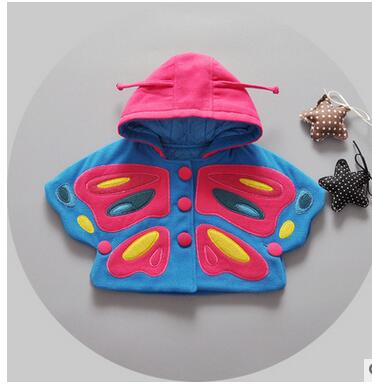 The-new-2016-girls-fall-and-winter-cloak-1-3-years-old-children-in-South-Korea-embroidery-butterfly-very-cute-baby-clothes-2