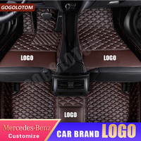 Custom Car Floor Mat Front Rear Liner for Mercedes Benz All Model C class Cla Amg W212 W245 Glk Gla Gle Gl X164 Vito W639 S600