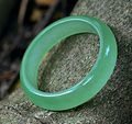 Wonderful Natural Green Jade Stone Lucky Bracelet Bangle Fashion Jewelry Bangles 56-63mm