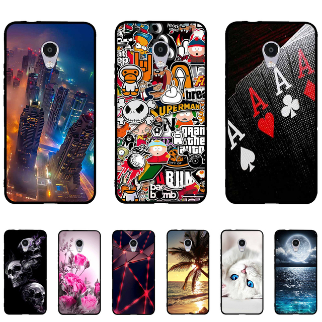 Case For Meizu M5s Meilan 5s MeiBlue 5s Case Back Silicone Phone Cover for Meizu M5S 5.2