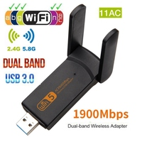Dual Band USB Wifi Adapter 802.11AC 1900Mbps WiFI 5ghz Adapter USB Ethernet PC Network Card Lan Wifi Dongle AC Wifi Receiver