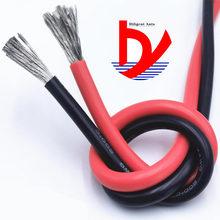 Cabo de linha de teste ultra flexível awg, fio de alta tensão 1awg-60-200 graus cabo de energia