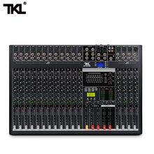 TKL контрольно-16-канальный профессиональный звуковой микшер с USB DJ микшерная консоль Bluetooth AUX запись сценическое оборудование