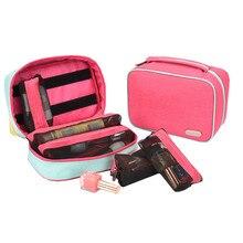 Portable Travel Storage Bag Multifunction Women Cosmetic Bag for Makeup Waterproof Large Capacity Bathroom Organizer Detachable