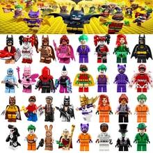 Для Бэтмена фильм замораживание яд Lvy Харли Квинн Джокер календарь человек Джокер Барбара Гордон фигурки строительные блоки игрушки