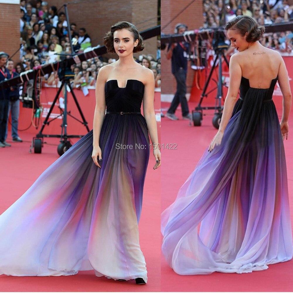 Moderno Ombre Vestido De Cóctel Ornamento - Colección de Vestidos de ...