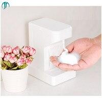 500ML Stand Foam Dispenser Automatic Soap Dispenser Soap Save White Smart Countertop Dispensers Automatic Foaming Dispensers