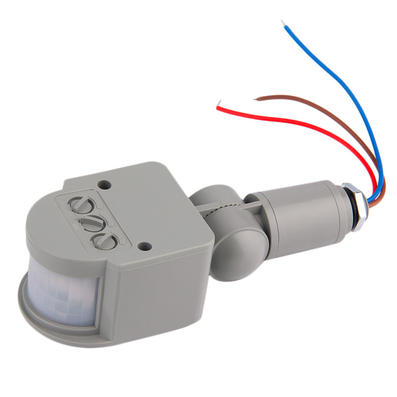 Motion Sensor Light Switch Outdoor AC 220V Automatic Infrared PIR Motion Sensor Switch for LED Light Sensor Detector sensky 220v 240v ac outdoor ip44 photoelectric sensor switch light control sensor automatic photocell switch for lamps 302