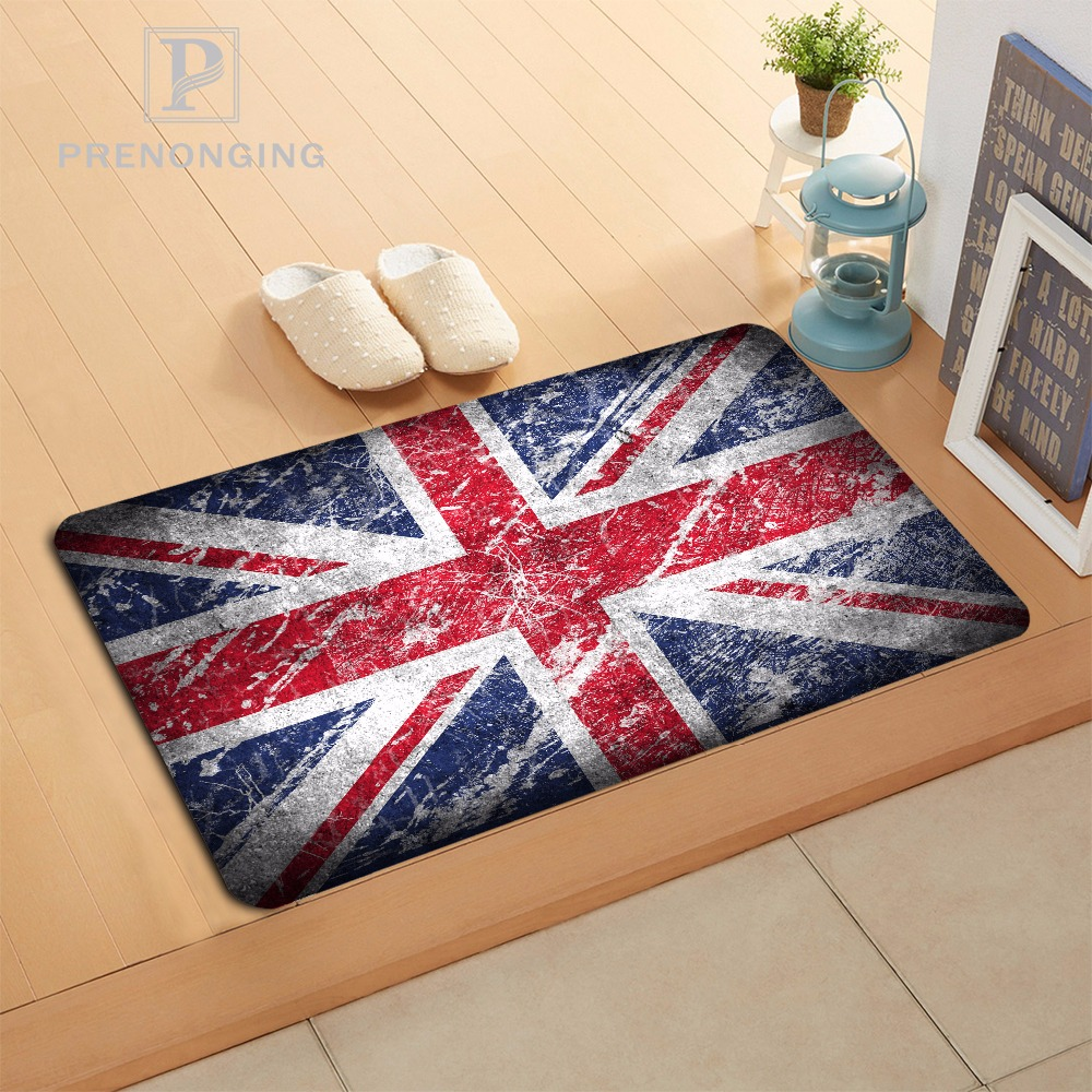 Custom Flag Doormat Print slip-resistant Mats Floor Bedroom Living Room Rugs 40x60cm 50x80cm Free Shipping 171120-06