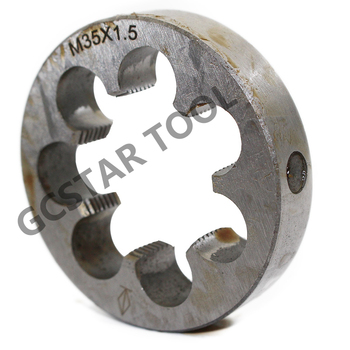 1 Stks Metric Die M31 M32 M33 M34 M35 M36X3mm 2mm 1.5mm 1mm Mini Rechterhand Pitch Ronde Draad Sterven Tools Draaibank Ingenieur Tool