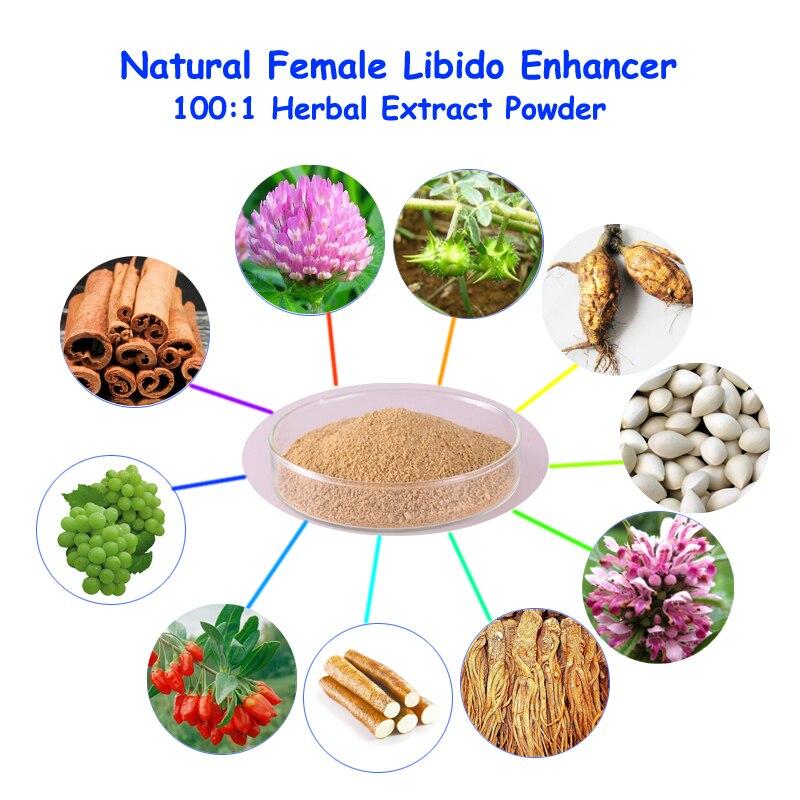 Female Libido Enhancing Formula For Arousing Lust Enhancer made from Ginkgo Red Clover Tribulus Terrestris Grape