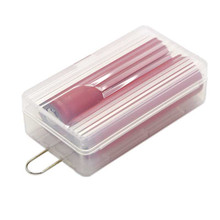 2X18650 Battery Holder Case New Battery Storage Boxes Cases Holder For 18650 Battery with Hook Holder Transparent Strong Hard