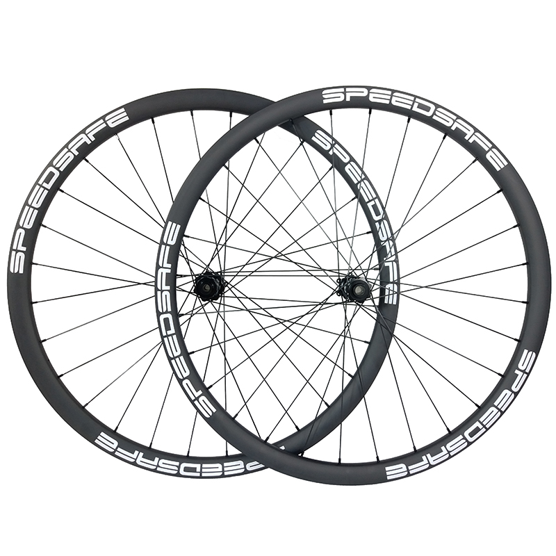 29er 30mm MTB XC BOOST carbon tubeless wheels straight pull wheelset 15X110 12X148 30mm deep UD