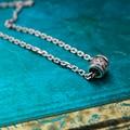 Hot sale! 2017 new arrival personality unique thai silver necklace retro vintage pendant & necklace for men women lover necklace